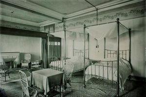 Hình độc nội thất khách sạn trứ danh Đà Lạt thời thuộc địa