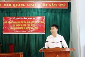 Nghệ An: Đơn giản hóa thủ tục nhập quốc tịch Việt Nam cho người Lào