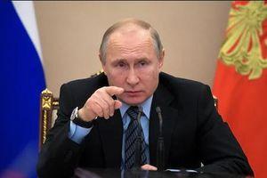 Ông Putin ký ban hành luật dừng hiệp ước hạt nhân với Mỹ