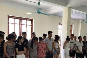 Phát hiện 8 thiếu nữ thác loạn cùng 11 thanh niên trong karaoke Kiên Thơm Lucky