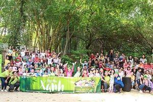 Mùa hè về với thiên nhiên ở làng tre Phú An