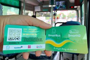 Vé xe buýt điện tử giúp hành khách thuận tiện hơn