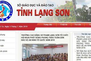 Tra cứu điểm thi THPT quốc gia 2019 ở Lạng Sơn