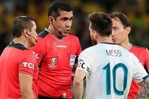 Thua trận, Messi rủa xả trọng tài không thương tiếc