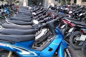 Tìm chủ sở hữu 2 xe môtô