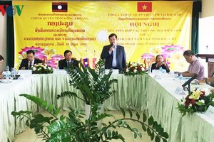 Tăng cường hợp tác thương mại biên giới Việt - Lào