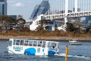 Xe buýt đi được cả dưới nước