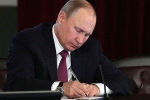 Tổng thống Putin kí văn bản ngừng tuân thủ hiệp ước INF