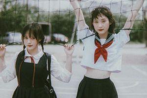 Bộ ảnh 'đốn tim' dân mạng của đôi bạn thân đều là hot girl ở Hà Nội