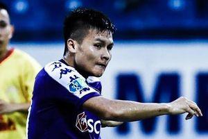 Thành Lương kiến tạo cho Quang Hải ghi bàn tại cúp quốc gia