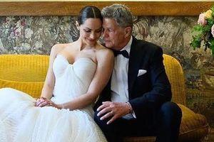 Hollywood gây chú ý với lễ cưới xa xỉ của mỹ nhân và chồng 70 tuổi