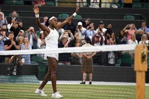 Nữ sinh 15 tuổi tiếp tục gây ấn tượng tại Wimbledon 2019