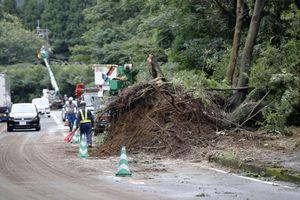 Nhật Bản tiếp tục cảnh báo tình trạng lở đất do mưa lớn kỷ lục