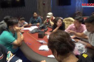 Triệt phá sòng bạc Poker 'khủng' do nhóm người Hàn Quốc điều hành ở TPHCM