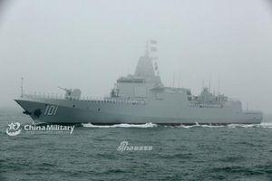Ngạc nhiên điều khiến Trung Quốc tự hào về khu trục hạm Type 055