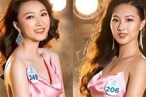 Thí sinh phía Bắc Miss World Việt Nam gợi cảm bất ngờ