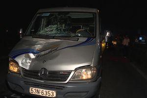 Nam thanh niên tử vong trong đêm sau cú va chạm với xe 16 chỗ