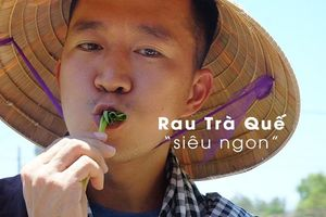 Hoàng Nam ChallengeMe và YouTuber nước ngoài làm nông dân ở vườn rau Trà Quế