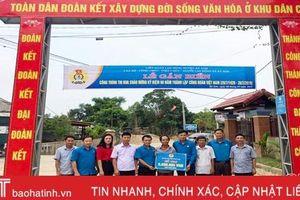 Hơn 500 công trình chào mừng 90 năm thành lập Công đoàn Việt Nam