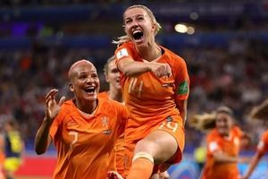 Hạ Thụy Điển, Hà Lan lần đầu vào chung kết World Cup nữ