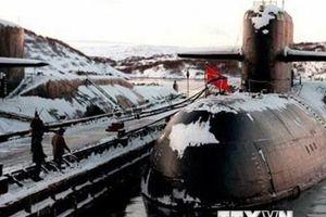 Nga bước đầu xác định nguyên nhân vụ cháy tàu lặn sâu