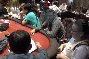 Triệt phá sòng bài Poker quy mô lớn do đối tượng người Hàn Quốc cầm đầu