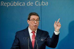 Cuba phản đối biện pháp trừng phạt mới của Mỹ