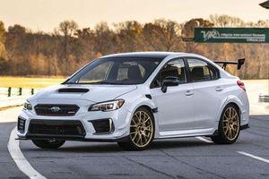 Cận cảnh xe hơi mạnh nhất trong lịch sử hãng Subaru