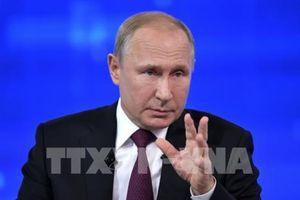 Tổng thống Putin: Mỹ quan tâm khôi phục đối thoại chiến lược với Nga