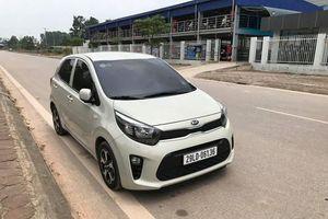 'Hàng hiếm' Kia Morning Turbo 2018 lăn bánh trên phố Việt