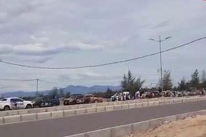 Công an vào cuộc vụ hàng chục ô tô bán tải chặn đường đua xe trái phép ở Quảng Bình