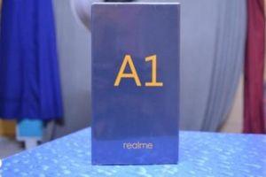 Lộ diện hộp đựng Realme A1, có thể sắp được ra mắt