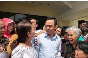 Ông Nguyễn Hồng Điệp: Tạm ứng tiền cho dân Thủ Thiêm ở Hà Nội mua vé về TPHCM