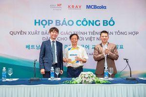 Chuyển giao quyền xuất bản bộ giáo trình tiếng Hàn tổng hợp cho Việt Nam