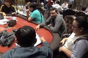 Khám xét sòng poker do người Hàn Quốc cầm đầu ở Sài Gòn