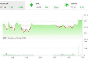 Chứng khoán ngày 5/7: Thoát thế giằng co, VN-Index chạm mốc 975 điểm