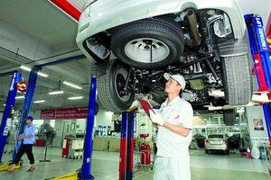 Nhiều doanh nghiệp ô tô chưa đáp ứng tiêu chuẩn cơ sở bảo dưỡng