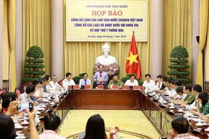 Lệnh của Chủ tịch nước về công bố Luật Đầu tư công sửa đổi
