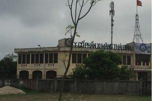 Thái Bình: Nhà máy xi măng gây ô nhiễm khói bụi ngay tại trung tâm TP