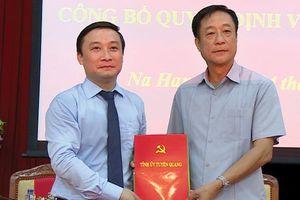 Tuyên Quang: Đồng chí Hoàng Anh Cương làm Bí thư Huyện ủy Na Hang