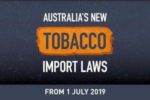 Australia thực thi luật mới chống lại việc nhập khẩu thuốc lá trái phép