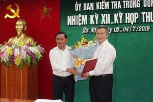 Ủy viên Ủy ban kiểm tra TƯ làm Phó bí thư Hà Tĩnh