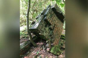 Tìm thấy dấu tích trại tù chiến tranh bị lãng quên ở khu rừng nước Anh