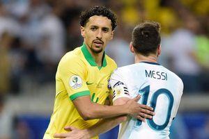 Sao Brazil khoe bắt chết Messi dù bị tiêu chảy
