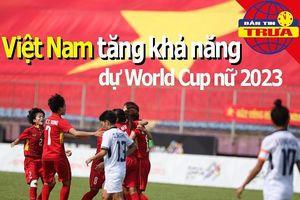 Việt Nam tăng khả năng dự World Cup bóng đá nữ 2023