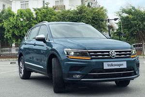 Soi Volkswagen Tiguan Allspace Luxury gần 2 tỷ