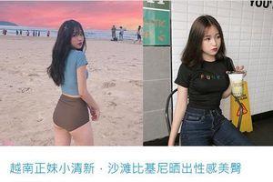 Nụ cười tỏa sáng, hot girl Việt làm điên loạn báo Trung Quốc