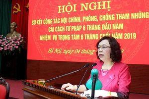 Hoạt động nội chính và phòng chống tham nhũng của Đảng bộ Hà Nội quy củ, nền nếp