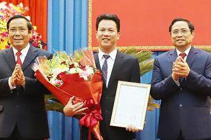 Chủ tịch tỉnh Hà Tĩnh Đặng Quốc Khánh được điều động giữ chức Bí thư tỉnh Hà Giang