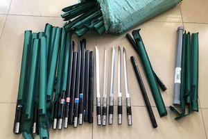 Phá đường dây buôn bán vũ khí từ Trung Quốc về TPHCM